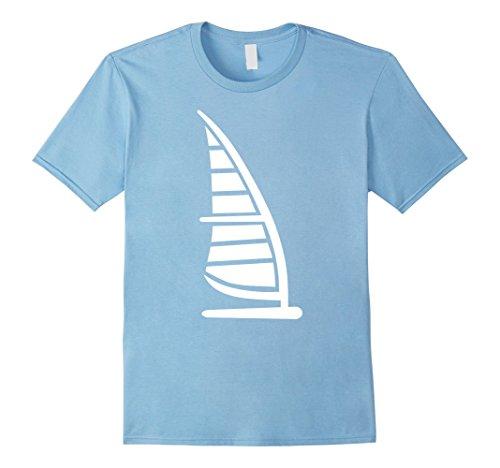 Mens Surfboard windsurfing T-Shirt Medium Baby - Planet Shop Blue Surf