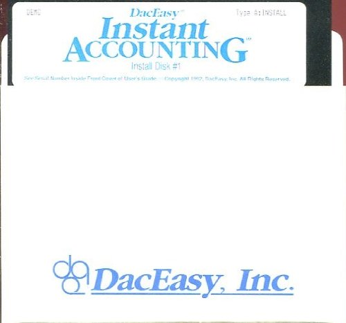 Daceasy Accounting - INSTANT ACCOUNTING DEMO by DACEASY, INC. /SOFTWARE /DISKETTE /**RARE**