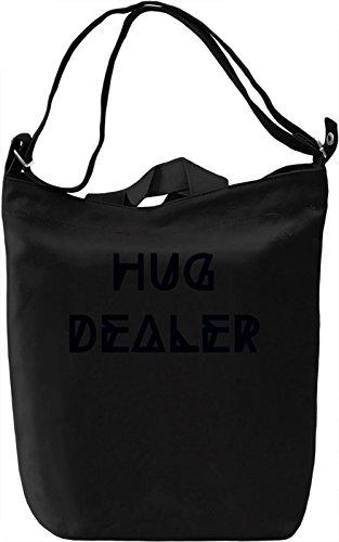 Hug Dealer Borsa Giornaliera Canvas Canvas Day Bag| 100% Premium Cotton Canvas| DTG Printing|