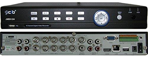 CIB 9CH J960HX9N 960H HDMI High Resolution 270FPS Network Security Surveillance DVR No HDD Included