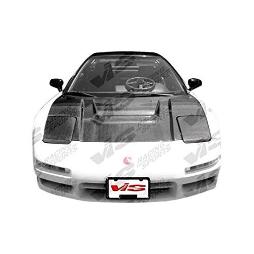(VIS Racing (VIS-WGL-334) Type R Style Hood Carbon Fiber - Compatible for Acura NSX 1991-2001 (1991 1992 1993 1994 1995 1996 1997 1998 1999 2000 2001 | 91 92 93 94 95 96 97 98 99 00 01))