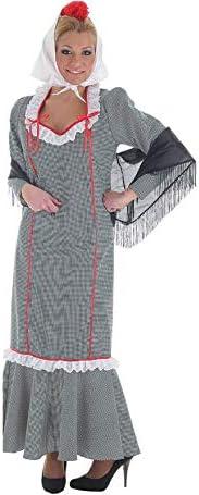 Disfraz de Chulapa de Pata de Gallo para mujer: Amazon.es: Juguetes y juegos