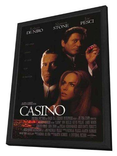 Casino Framed Movie Poster
