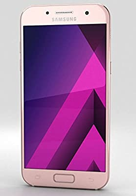 Samsung Galaxy A7 (2017) Factory Unlocked SM-A720F/DS 32GB 3GB Ram Dual Sim  4G LTE USA Caribbean & Latin International Version (Peach Cloud)
