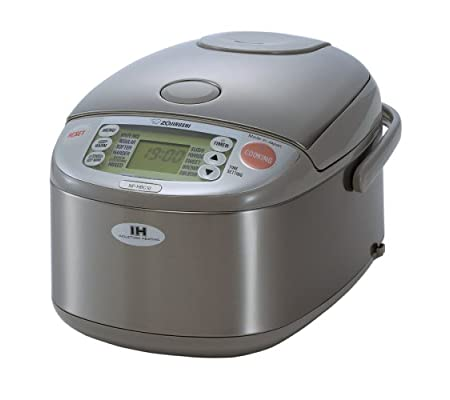 Zojirushi NP-HBC10 5-1/2-Cup (Uncooked) Rice Cooker and Warmer