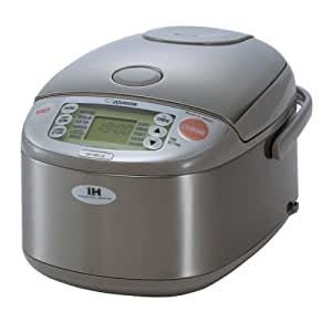 Zojirushi NP-HBC10 Induction Heating System Rice Cooker and Warmer