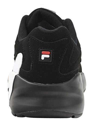 MINDBLOWER Homme Fila Fila 1RM00201 Sneakers Black Chaussure White Red pEqw5qZ