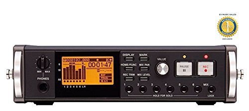 tascam-dr-680-8-track-portable-digital-field-audio-recorder-with-1-year-free-extended-warranty