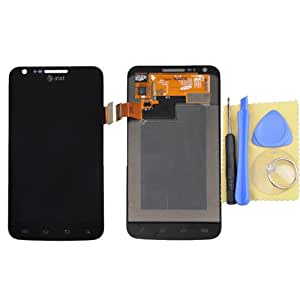 Black LCD + Touch Screen Digitizer Assembly For Samsung Galaxy S2 Skyrocket i727 at&t