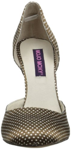 Mojo Moxy Womens Bluemoon Dress Pump Marrone