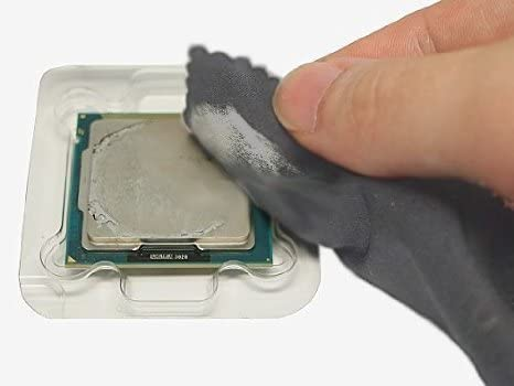 Microfiber Cleaning Cloth Anti Static Wrist Strap w//Adjustable Grounding Original Intel Core i3//i5//i7 Socket 1150//1151//1155//1156 4-Pin Connector CPU Cooler 7x6
