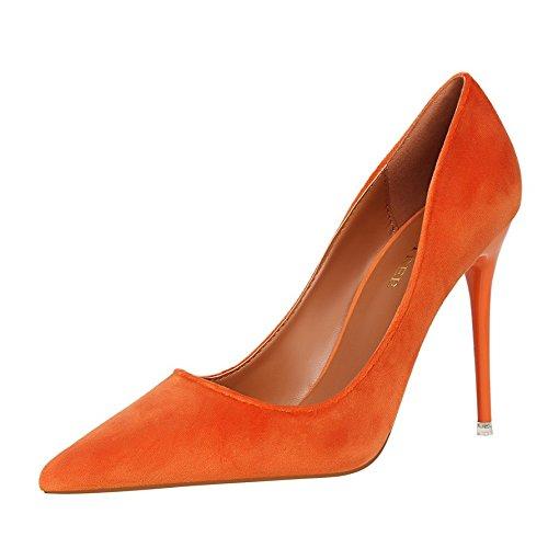 ZHANGYUSEN tacchi alti scarpe alti tacchi Rosso e del Nero Nuova Donne di 2018 matrimonio alti e molla Singoli tacchi sposa vqrvw