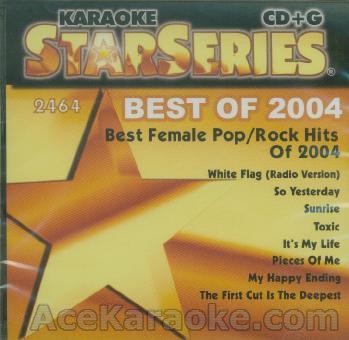 Karaoke: Best Female Pop Rock Hits of 2004