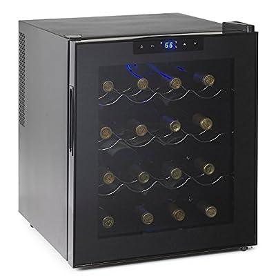 Wine Enthusiast 272 03 17 16 Bottle Touchscreen Wine Cooler, Black