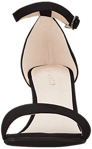 Cinturino Nero Donna Low nero Sandali Basic Caviglia Bianco Alla Con I1xT8RB