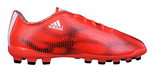 adidas Bota Jr F10 TRX AG Solar red-White-Black Red