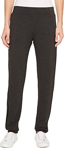 Ivanka Trump Women's Knit Tulip Hem Pull-On Leisure Pants Charcoal/Black X-Small