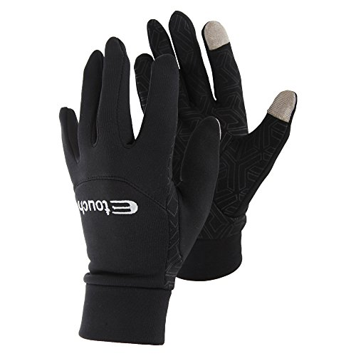 Ladies Snowboarding (Womens/Ladies Touch Screen Gloves With Non Slip Palm Grip (Large))