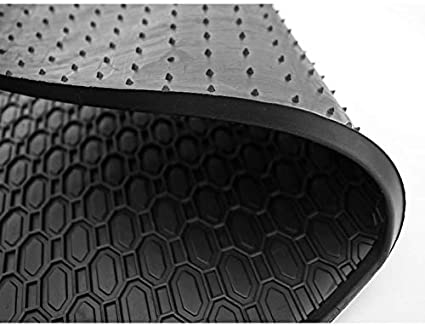OTOLIMAN Custom Fit for Civic Honda Civic Black 2012-2016 Car/%100 Rubber Front Rear Floor Mats All Weather Heavy Duty Tall Channel
