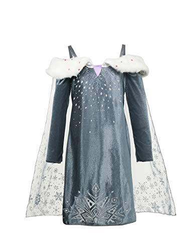 FashionModa4U Frozen Adventure Girls Costume Dress Elsa, 5.