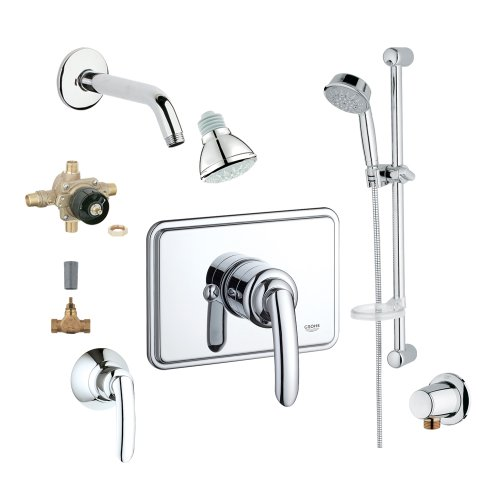 Grohe 2WVC-TAPC Custom Shower 2-Wall Volume Control System
