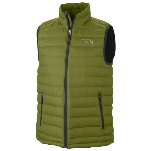 Mountain Hardwear Lightweight Vest - Mountain Hardwear Nitrous Vest - Men's Elm X-Large