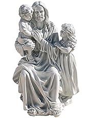 Deal on Design Toscano Jesus Loves The Little Children Garden Sculpture