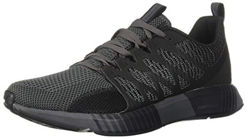 Reebok Men's Fusion FLEXWEAVE CAGE, Black/True Grey, 10 M US