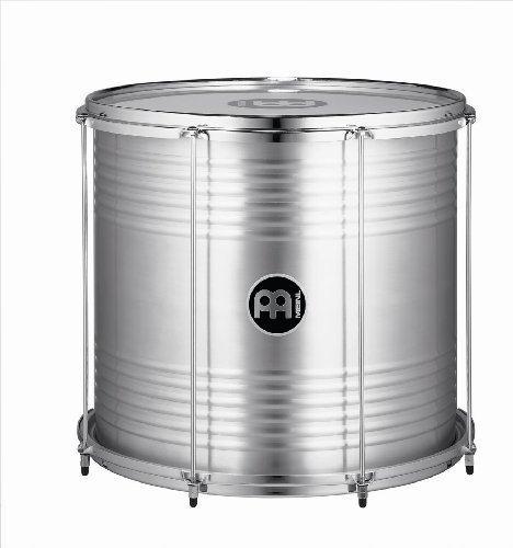 Meinl Percussion 18'' Bahia Surdo with Aluminum Shell - NOT MADE IN CHINA - Equipped with Napa and Synthetic Heads, 2-YEAR WARRANTY (SUB18) by Meinl Percussion (Image #1)