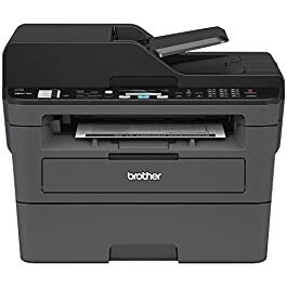Brother Monochrome Laser Printer, Compact All-In One Printer, Multifunction Printer, MFCL2710DW, Wireless Networking and…