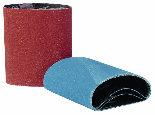 Walter 07F504 Linear Finishing Cloth Drum Abrasive Belt, 11-5/8' Length x 5-3/8' Width, Grit 40 (Pack of 5) 11-5/8 Length x 5-3/8 Width Walter Surface Technologies
