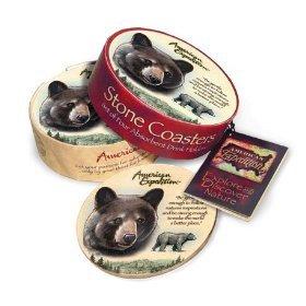 (American Expedition Black Bear Stone Coaster)