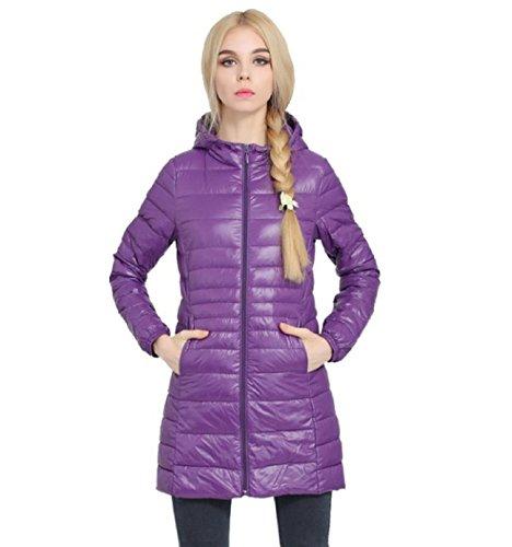 Violette Damen Veronique Jackeleichte Feder44 Damenultraleichte DaunenjackePlus Size 80kPXnwO