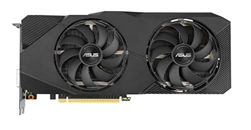 ASUS GeForce RTX 2060 Super 8G EVO GDDR6 Dual-Fan Edition VR Ready HDMI DisplayPort DVI-D Graphics Card (DUAL-RTX2060S-8G-EVO)