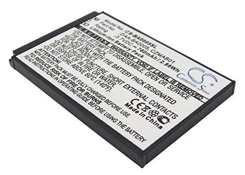 Replacement Battery for Creative Zen Micro, Zen Micro 4GB, Zen Micro 5GB, Zen Micro 6GB, Zen Micro Photo