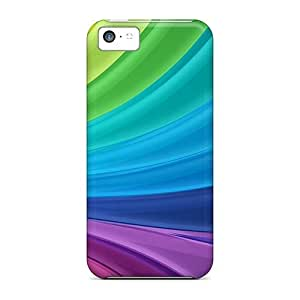 New Hard Cases Premium Iphone 5c Skin Cases Covers(colorful Rays)