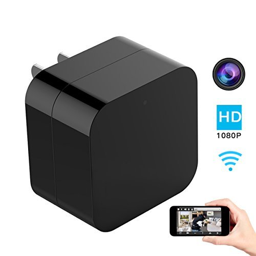 Hidden Spy Camera, 1080P Home Security Mini Camera USB Charg