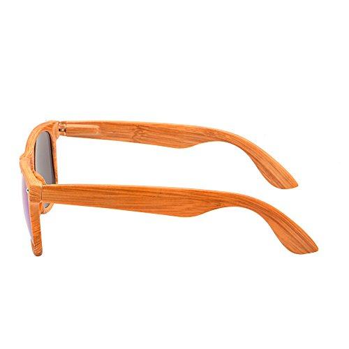 Lente Resorte de Bisagras de Sol de Retro Azul Templo Con Gafas Espejo Naranja Hombre Reflexivo Mujer AqCwXPpv