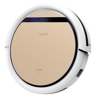 CST ilifev5s Intelligent Robotic Vacuum Cleaner - Rose Gold, Smart ...