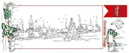 75x185 Frontera del Pueblo Marianne Design Sellos Transparentes para Manualidades de Estampado y Sellado plastico