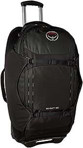 "Osprey Packs Sojourn Wheeled Luggage, Flash Black, 80 L/28"""