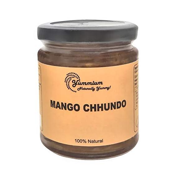 Yummium Traditional Taste Sweet Mango Chutney/Chunda-225G