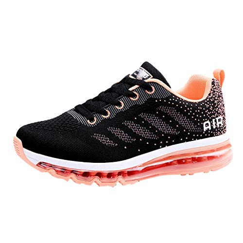 OrchidAmor Couple Walking Casual Shoes Air Cushion Running Jogging Sports Athletic Sneakers 2019 Summer Swag Shoes Pink