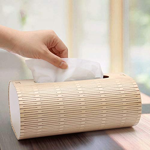 ZYN Wooden Tissue Box- European Style Living Room Household Tray Wooden Napkin Box by ZYN (Image #2)