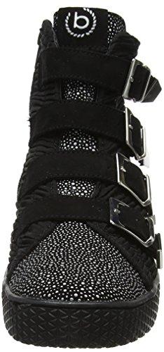 9010 Negro Black Negro Bugatti mujer Metallics Hi para 422525325969 Zapatillas Top nvxwSqRnH