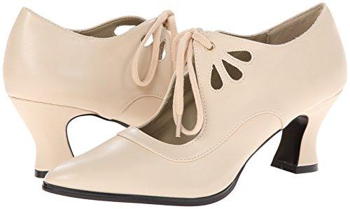 Victorian Pu 03 Pleaser Mujer cream Tacón Para Beige Zapatos De pSx6wq