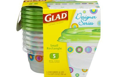 glad-designer-series-5-small-rectangular-9oz-containers-lids