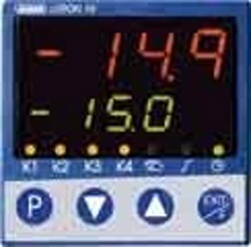 Regulador de microprocesador Jumo 702071/8-1134-23-00 cTron 16 ...