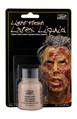 Mehron Makeup Liquid Latex (1 oz) (Light -