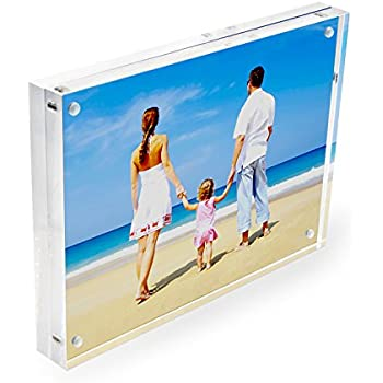 Amazon.com - NIUBEE 3.5x5 Acrylic Picture Frame Gift Box Package ...